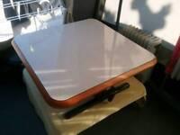 Hobby caravan table