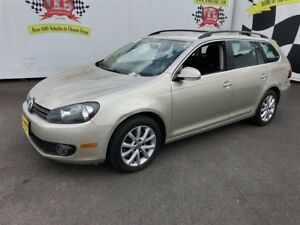 2012 Volkswagen Golf Wagon Comfortline, Manual, H Seats, Diesel,