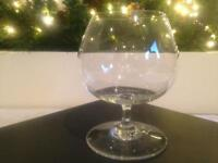 BACCARAT CRYSTAL COGNAC BRANDY GLASS BALLOON ~ PURCHASED FROM CHRISTIES OF LONDON