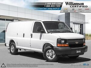 2016 Chevrolet Express 2500 CARGO**AIR CONDITIONING**PWR WIN AND