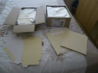 94 x ivory gift boxes , 2 sizes, brand new in original packaging