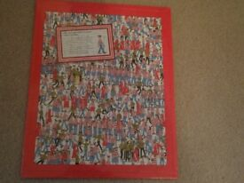 Where's Wally 80 Piece Puzzle - BRAND NEW - Unwanted gift