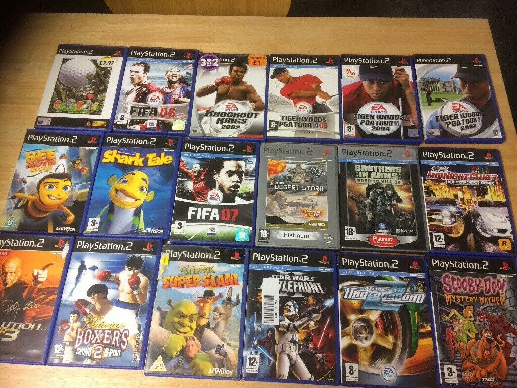 18 PlayStation 2 games