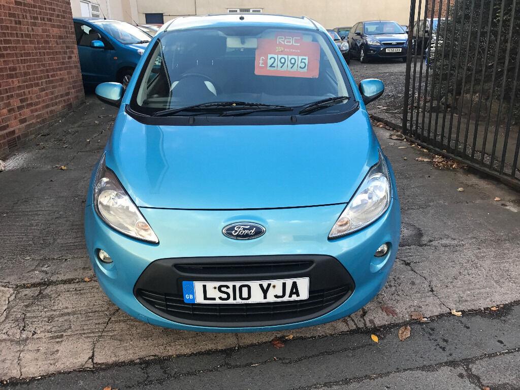 Ford KA 1.2 Zetec 3dr - 2010, 1 Lady Owner, 12 Months MOT, 6 Service Stamps, 2 Keys, New Shape £2795