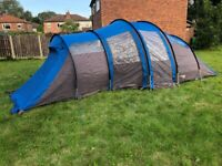 Coleman Exponent Columbus 6 berth tent Excellent condition & new Coleman Awning Fair offers please