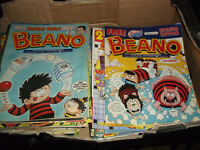JOB LOT BEANO COMICS (50) 2000-2003