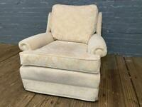 FABRIC ARMCHAIR IN EXCELLENT CONDITION