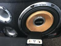12 inch vibe cbr subwoofer with amp