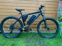Electric Bike - New Carrera Vengeance with all New Electric Conversion