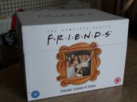 FRIENDS DVD box set - complete with episode guide