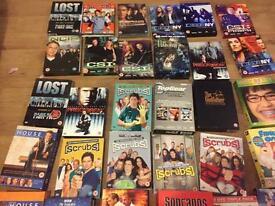 DVD Job lot of 35 DVD box sets