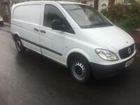 2009 58reg Mercedes Vito 2.1 109 Compact White Good Runner