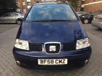 Seat ALEHAMBRA 2.0 TDI 6 speed 2009 full servis history hpi Clear Px welcome