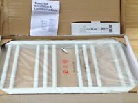 Homebase White Towel Radiator Brand New