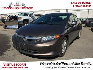 2012 Honda Civic LX | BLUETOOTH | FUEL EFFICIENT