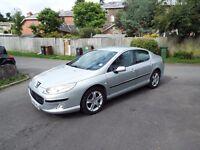 FOR SALE Peugeot 407 SE. 1997CC Petrol. Silver. £1800 ONO.