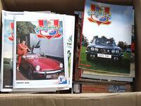 Triumph Sports Six Club Magazines
