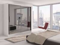 ❋💖❋ PERFECT DESIGN ❋💖❋ BRAND NEW ❋💖❋ 2 DOOR SLIDING WARDROBE WITH FULL LENGTH MIRROR