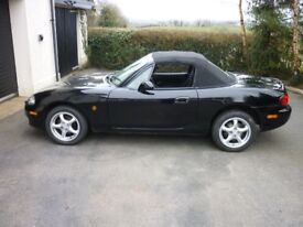 2004 Mazda MX5 1.6 mint condition - very low miles - stored last 2 years