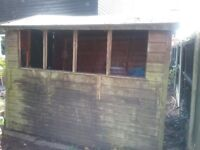6x8 Garden Shed. Suitable for an allotment