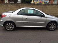 PEUGEOT 206CC AUTO 2006 PETROL 1587 FOR SALE