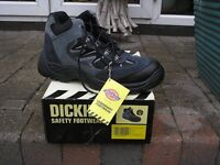 Dickies Steel toe cap Safety Hiker Suede Mesh Upper