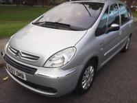 2007 CITROEN XSARA PICASSO EXCLUSIVE 1.6 PETROL ONE OWNER FORM NEW SERVICE HISTORY LOW INSURANCE