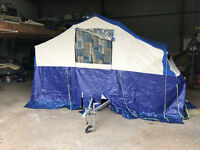 Sunncamp SE400 trailer Tent - Camping equipment