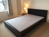 Ikea Malm double bed and mattress. Must go by July 19!