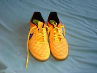 Nike Tiempo Trainers size UK 8