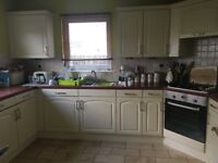For sale kitchen units including fridge freezer, cooker and hob. Extra photos added