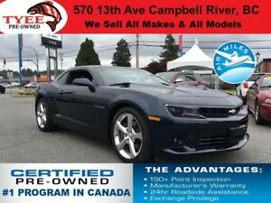 2015 Chevrolet Camaro SS V8 RS Package Navigation Heated Seats