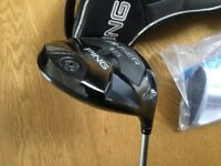 Ping anser 10.5 adjustable driver