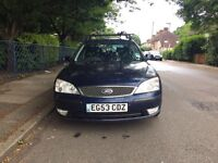 Automatic ford mondeo zetec for sale, very low mileage, MOT, only 1 former owner, drives well.