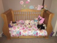 Tutti Bambini Marie Nursery Set - Cot Bed, Changing Table, Wardrobe, Toy box, shelf