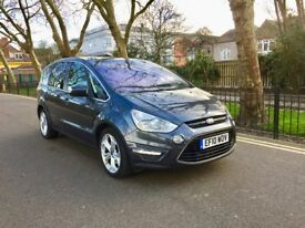 7 Seater|Automatic | Ford S-Max 2.0 TDCi Titanium Powershift| Navigation| Heated Seats| Full Service