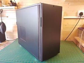 Ultra quiet, subtle look gaming pc - AMD FX-8320 - R9 290 - 16GB RAM