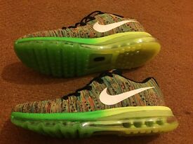 Men's Nike Flyknit air max trainers. New.