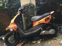 £120 spares or repair Peugeot trekker 50cc