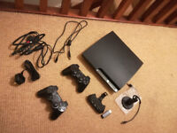 Ps3 500GB + 58 Games +Keyboard+HEADSET+TWO PADS