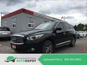 2015 Infiniti QX60 | AWD | BACK-UP CAM | HEATED STEERING