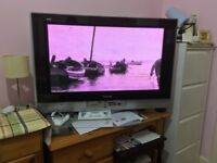 Panasonic VIERA TV 37 inch + Remote + SD CARD function + PC Connect Cables