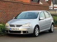Volkswagen Golf 2.0 GT TDI (DSG) + (2004/54) + GENUINE 38K + FSH + 1 OWNER + LEATHER +VERY LOW MILES
