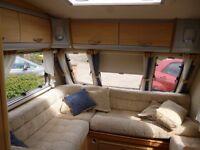 Sterling Eccles Amber 2 berth caravan 2004
