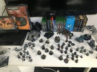Warhammer 40K Entire Collection - Multiple Army Builds, Paints and Brushes included