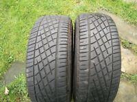 Yokohama 195 45 16 tyres x2 excellent condition