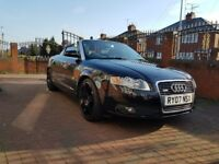 2007 Audi A4 2.0 TDI Cabriolet SLINE (88000 MILES, CONVERTABLE, HEATED LEATHER, SAT NAV