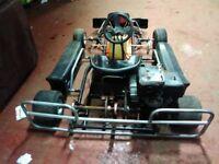 Honda racing go -kart