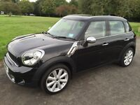 Mini Countryman Cooper S Absolute Black