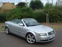 2005 AUDI A4 1.8T S LINE CONVERTIBLE LEATHER FULL HISTORY